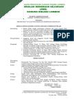 Surat Keputusan tentang pembentukan tim penyususn visi dan misi.doc
