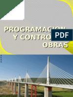 Presentacion de Programacion y Control de Obras