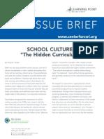schoolculturethehiddencurriculum