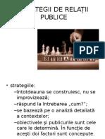 Strategii de Relații Publice