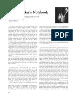 004-016 - Cabinetmaker's Notebook