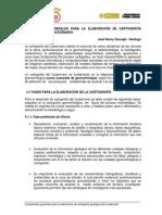 6. 1.1 Lineamientos Cartografia Geologica Del Cuaternario
