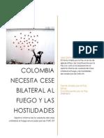 Séptimo Informe de veeduría al cese unilateral del fuego