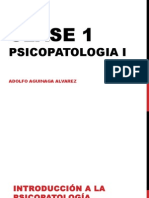 Clase 1 Psicopatologia i