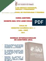 Tema 2 - Normas Internacionales de Auditoria - Copia