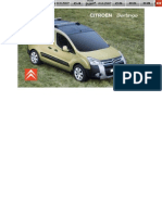 Citroen Berlingo Owners Handbook