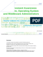 DB2 Environment Awareness for Platform, Operating System and Middleware_ Administrators