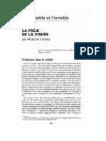 232741001 Michel de Certeau La Folie de La Vision
