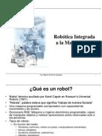 Robotica Integrada a La Manufactura - CIM