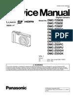 Manual Panasonic Dmc-tz8 Zs5
