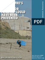 San Onofre's Steam Generator Failures Could Have Been Prevented, May 15, 2012, Fairewinds Associates