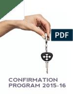 Confirmation Program 2015-16