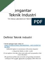 Pengantar Teknik Industri -Pendahuluan.pptx