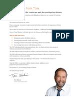 2015 NDP Platform
