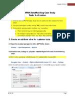 E04 - SAP HANA Case Study Tasks 3-5 (View Creation) Solution