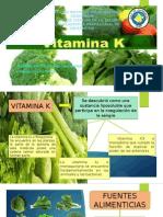 Vitamina k - Nutricion