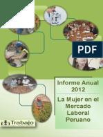 Informe Anual Mujer Mercado Laboral 2012