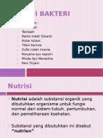 Nutrisi Bakteri