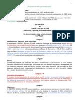 Proposta Alteracao Estatutos CSO