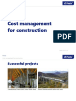 Presto Cost Management for Construction