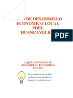 Plan Desarrollo Economico Local Pdel Hvca