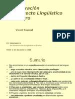 Proyecto enseñanza de lenguas segundas