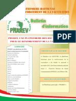 Bulletin PHAREV # 1