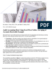 Audit Aging of Receiveables Using Excel Pivot Tables
