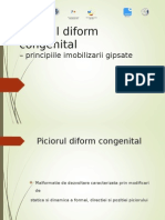 8. Piciorul Diform Congenital