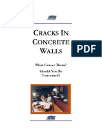 Cracks in Concrete Walls