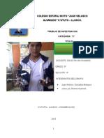 Reciclaje de Artefectos y Desechos Inorganicos Juan Antonio