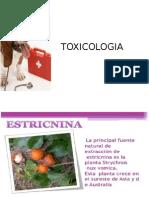 Toxicologia Warfarina y Estricnina
