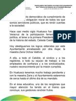 20 12 2010 - Tercer Informe de Gobierno en Huatusco