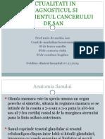 Ecografia Interventionala in Tumorile Mamare