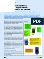 Why Multimeter to Choose