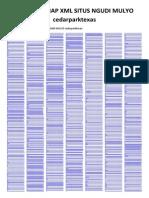 Arsip Sitemap XML Situs Ngudi Mulyo - Cedarparktexas
