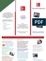 Brochure Desarrollo Profesional