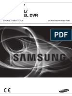 Samsung 8 Channel Sd Dvr Sdr4100 Users Manual 283277
