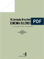 Catalogo  Jornada Cinema Mudo
