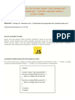 JavaScript interno con script type=_text_javascript_. Intérprete JavaScript