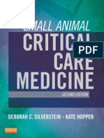 SILVERSTEIN Small Animal Critical Medicine Book
