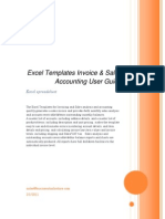 Excel Templates Invoice