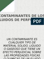 Contaminantes de Los Lodos