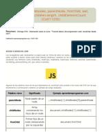 JavaScript Childnodes, ParentNode, FirstChild, Last, NextSibling, Children