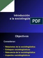 Introduccion a la Sociolinguistica