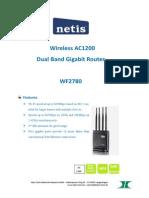 netis_WF2780_Datasheet