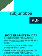 Subjuntiboa Nor