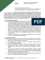 Edital do Tribunal de Justiça do Estado de Rondônia