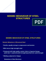 Seismic Behaviour of Steel Structures