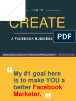 How to Easily Set-up a Facebook Business Page
